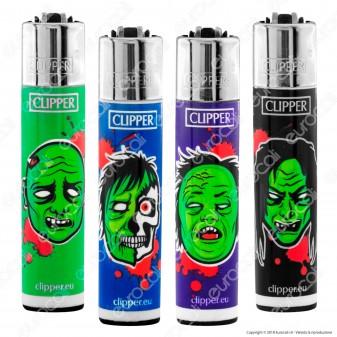 Clipper Large Fantasia Horror Zombies - 4 Accendini