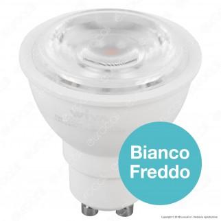 Wiva Lampadina LED GU10 8W Faretto Spotlight - mod. 12100410 / 12100411 / 12100412