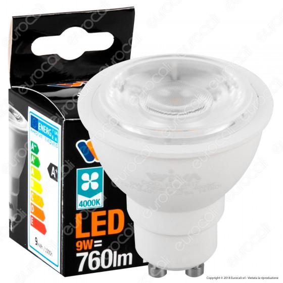 Wiva Lampadina LED GU10 9W Faretto Spotlight - mod. 12100416 / 12100417 / 12100418