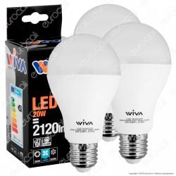 Wiva Lampadina LED E27 20W Bulb A70 - 3 Lampadine ⭐️PROMO 3X2⭐️