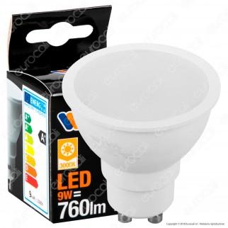 Wiva Lampadina LED GU10 9W Faretto Spotlight - mod. 12100419 / 12100420 / 12100421
