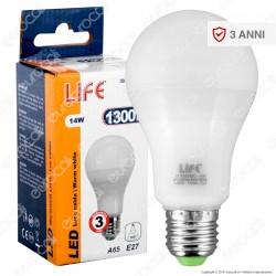 Life Serie GF Lampadina LED E27 14W Bulb A65 - mod. 39.920346C / 39.920346N / 39.920346F