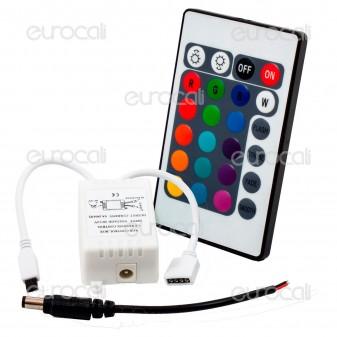 V-Tac Controller per Strisce LED RGB con Telecomando 24 Tasti