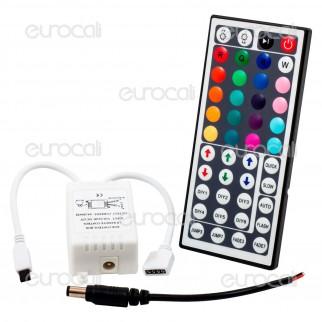 V-Tac Controller per Strisce LED RGB 5050 con Telecomando 44 Tasti