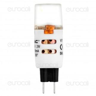 V-Tac VT-1863 Lampadina LED G4 1,2W Bulb - Blister 3 pz