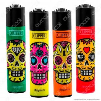 Clipper Large Fantasia Skull Mix 1 - 4 Accendini