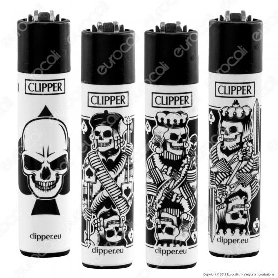 Clipper Large Fantasia Skull Mix 2 - 4 Accendini