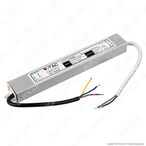 V-Tac Alimentatore 30W Impermeabile IP65 a 1 Uscita con Cavi a Saldare - SKU 3100