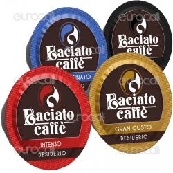 Kit Assaggio 8 Capsule Baciato Caffè Cialde Compatibili Lavazza a Modo Mio
