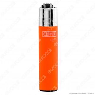 Clipper Micro Fantasia Soft Touch Fluo - 4 Accendini