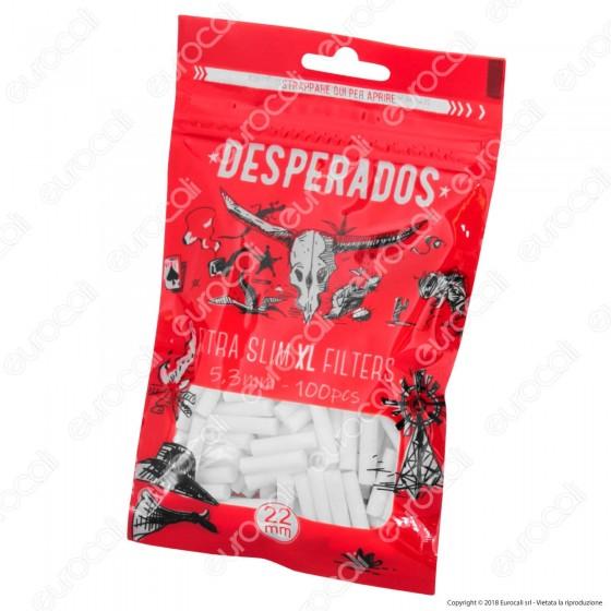 Desperados Extra Slim XL 5,3mm - Bustina da 100 Filtri