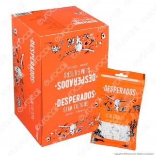 Desperados Slim 6mm - Box 30 Bustine da 150 Filtri