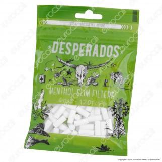 Desperados Slim 6mm Al Mentolo - Bustina da 120 Filtri