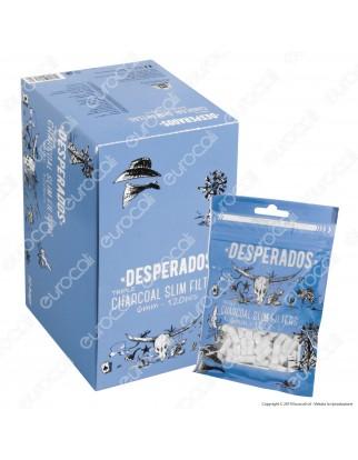 Desperados Slim 6mm Carboni Attivi - Box 10 Bustine da 120 Filtri
