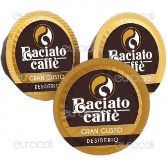 100 Capsule Baciato Caffè Desiderio Romantico Gran Gusto Cialde Compatibili Lavazza A Modo Mio
