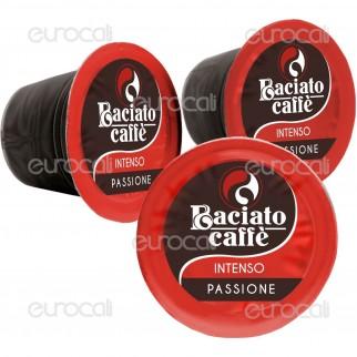 100 Capsule Baciato Caffè Passione Ardente Intenso Cialde Compatibili Nespresso