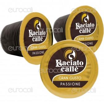 100 Capsule Baciato Caffè Passione Leggiadra Gran Gusto Cialde Compatibili Nespresso
