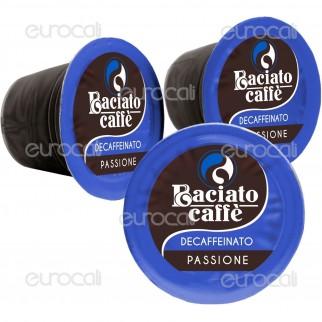 100 Capsule Baciato Caffè Passione Fuggente Decaffeinato Cialde Compatibili Nespresso