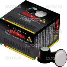 10 Capsule Caffè Gimoka Diamante 100% Arabica Cialde Compatibili Nespresso