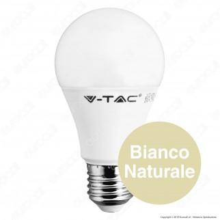 V-Tac VT-2059 Lampadina LED E27 9W Bulb A60 24V DC - SKU 7417 / 7224