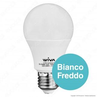 Wiva Lampadina LED E27 8W Bulb A60 - mod. 12100231 / 12100232 / 12100233