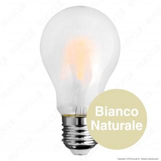 V-Tac VT-2047 Lampadina LED E27 7W Bulb A60 Frost Filamento - SKU 7181 / 7182 / 7183