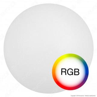 V-Tac VT-7803 Sfera Multicolor LED RGB 1W Ricaricabile con Telecomando IP67 - SKU 40161
