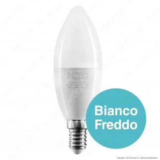 Fan Europe Intec Light Lampadina LED E14 8W Candela - mod. KLASSIC-E14C-8C / KLASSIC-E14C-8M / KLASSIC-E14C-8F