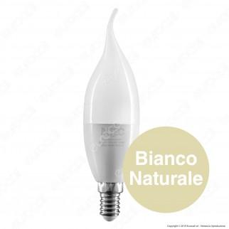 Fan Europe Intec Light Lampadina LED E14 8W Candela Fiamma - mod.KLASSIC-E14S-8C / KLASSIC-E14S-8M / KLASSIC-E14S-8F