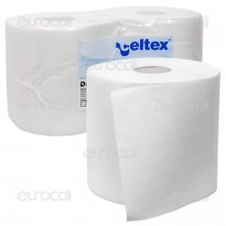 Celtex Dart Wipe Rotoli Industriali 1600 Strappi - 2 Bobine
