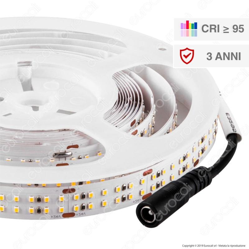 V-Tac VT-2216 Striscia LED 2216 Monocolore 360 LED/metro 24V CRI 97 - Bobina da 5 metri - SKU - 2580 / 2581 / 2582