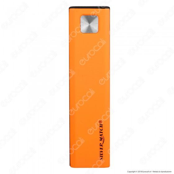 Silver Match Accendino USB Chriswick Slim in Metallo Antivento Ricaricabile - 1 Accendino