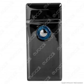 Cozy Accendino Hybrid USB e Turbo Flame in Metallo