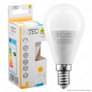 Fan Europe Intec Light Lampadina LED E14 8W MiniGlobo - mod. KLASSIC-E14G-8C / KLASSIC-E14G-8M / KLASSIC-E14G-8F