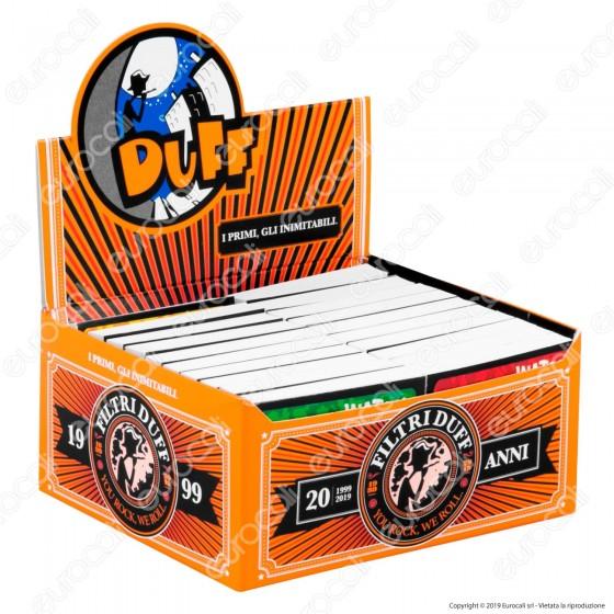 Duff Filtri In Carta - Scatola da 40 Blocchetti