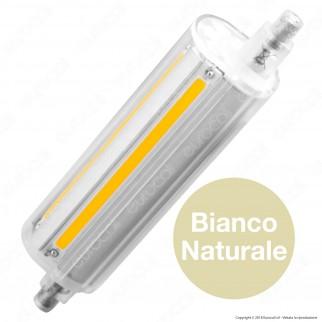 Life Lampadina LED COB R7s L118 14W Tubolare con Attacco Asimmetrico - mod. 39.932114c / 39.932114n / 39.932114f