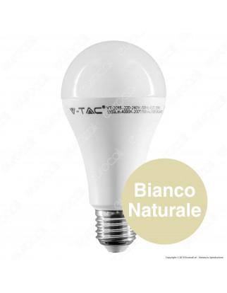 V-Tac VT-2015 Lampadina LED E27 15W Bulb A65 - SKU 4453 / 4454 / 4455