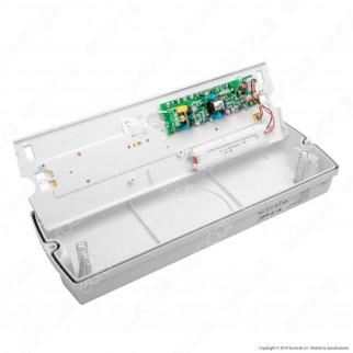 V-Tac PRO VT-524-S Lampada LED d'Emergenza Anti Black Out Grado Protezione IP65 - SKU 838