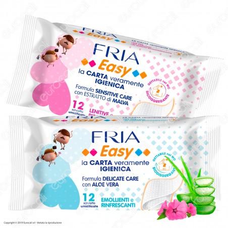 Fria Salviette Umidificate Easy Pocket Carta Igienica - 12 Salviettine