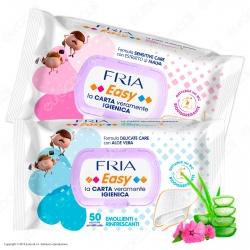 Fria Salviette Umidificate Easy Carta Igienica - 50 Salviettine
