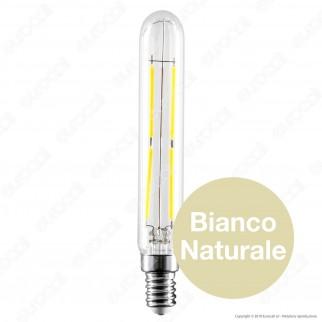 V-Tac VT-2204 Lampadina LED E14 4W Tubolare 4 Filamenti - SKU 2701 / 2702 / 2703