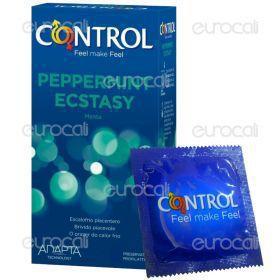Control Peppermint Ecstasy - Scatola da 6 Preservativi