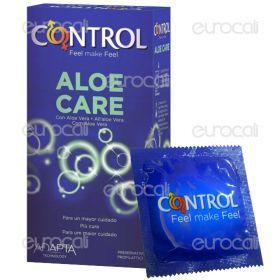 Control Aloe Care - Scatola da 6 Preservativi