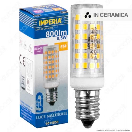 Imperia Ceramic Lampadina LED E14 8,5W Tubolare - mod. 6015858