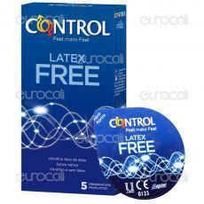 Control Latex Free - Scatola da 5 Preservativi