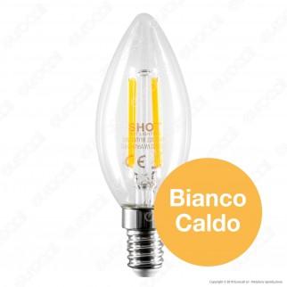 Bot Lighting Lampadina LED E14 6W Candela Filamento - mod. WLD2006X2 / WLD2006X3