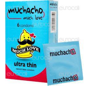 Muchacho Ultra Thin - Scatola da 6 Preservativi