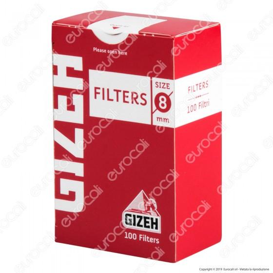 Gizeh Regular 8mm - Scatolina da 100 Filtri