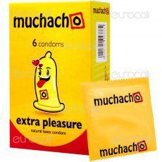 Muchacho Extra Pleasure - Scatola da 6 Preservativi