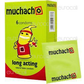 Muchacho Long Acting - Scatola da 6 Preservativi
